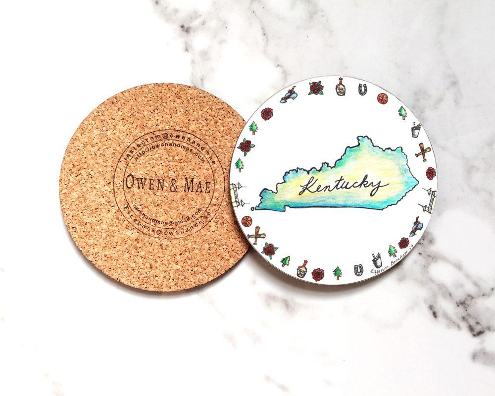 Kentucky Coaster by Owen & Mae