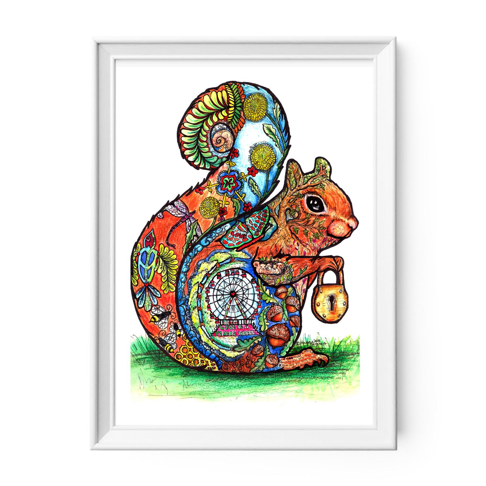 Squirrel Wall Art